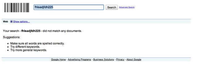Google Keywords Meta Tag Test Results