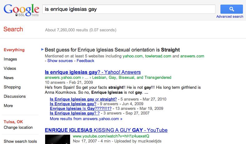 Google Gaydar