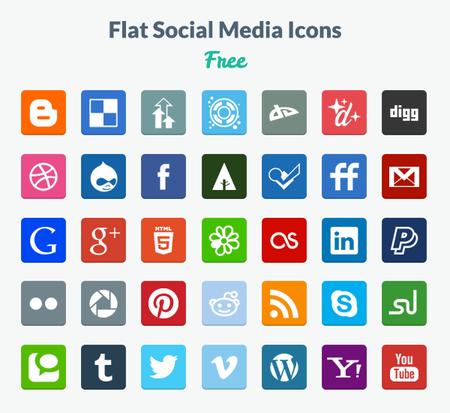 Flat Design Icons