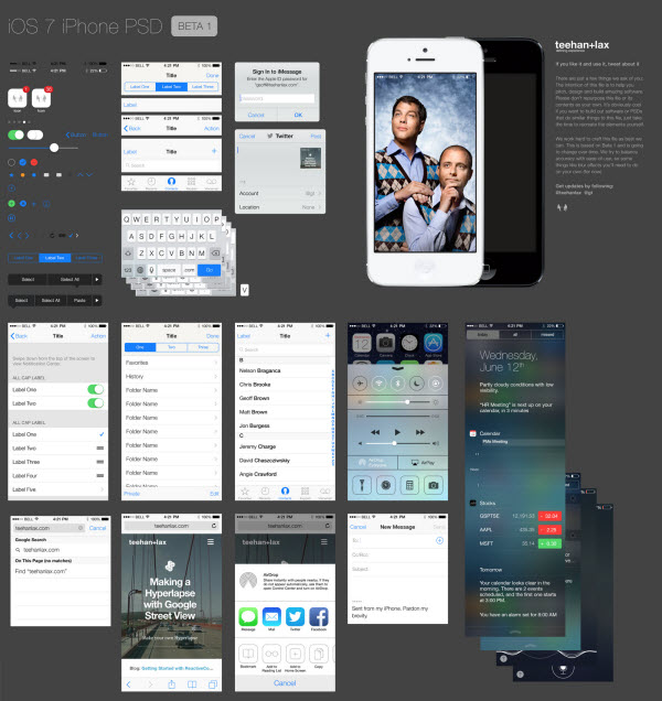 iPhone GUI