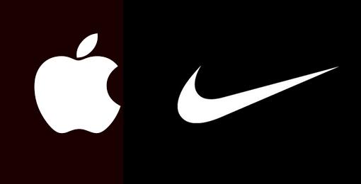 Apple-Nike Logos