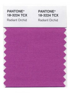 Pantone Radiant Orchid