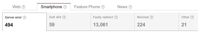 Smartphone Errors