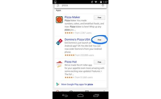 Google App Search Graphic