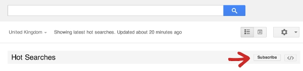 Google Subscribe