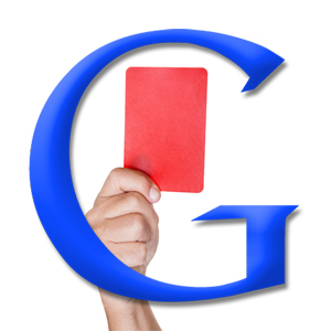 google-red-card
