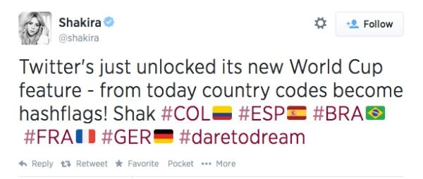 Shakira Twitter