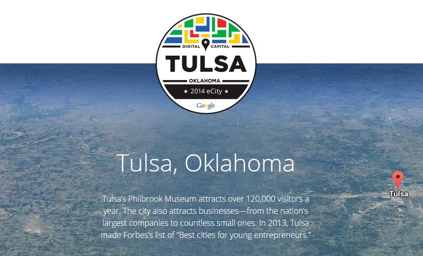 Google Ecity Tulsa