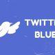 Twitter Blue Mock Logo