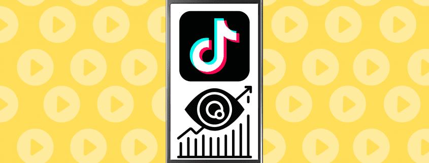 TikTok video views banner